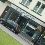 Photograph of premises of Bishops barbers