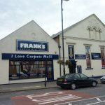 Photograph of premises of franks Carpets