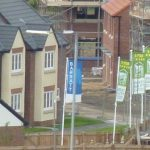 Photograph of more new houses completed