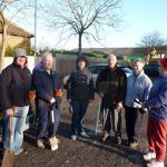 Photograph of Members of the former Coxhoe Community Partnership