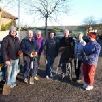 Photograph of former members of Coxhoe Community Partnership