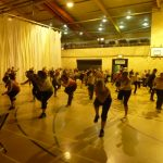 Photograph of Zumba participants having a wonderful time