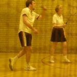 Photograph ofman encouraging teammate