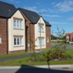 Photograph of more lovely new houses completed