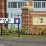 Photograph of Prospect Place and The Limes signs