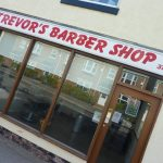 Photograph of premises of former Trevors Barberss