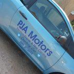 Photograph of premises of PJA Motors