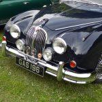 Photograph of Jaguar front end