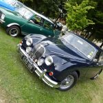 Photograph of Jaguar at an angle