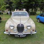 Photograph of beige Jaguar