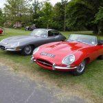 Photograph of etype Jaguar