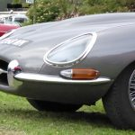 Photograph of E Type Jaguar in grey