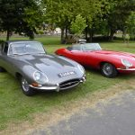 Photograph of not on but two Jaguars