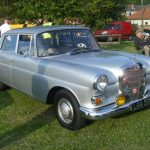 Photograph of classic Mercedes I think