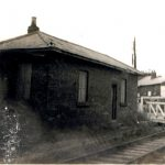 Photo of railway buildings 1930's