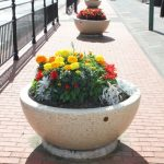Photo of Church Street planters in aline