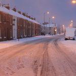 Photograph of snowy coronation Terrace