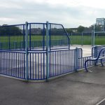 Photograph of hard play area