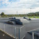 Photograph of skidzone jumps