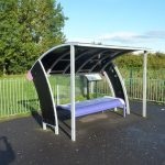 Photograph of young peoples shelter in play park