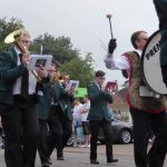 Photograph of our band palying