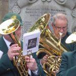 Photograph of horn musicians