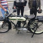 Photograph of old bike small engine