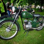 Photograph of very old bike