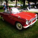 Photograph of Triumph in red