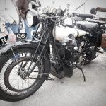 Photograph of classic bike