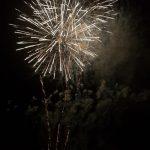 bursting colour firework display