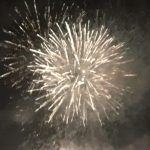 fireworks going off whoosh