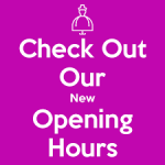 New public opening hours from 14th January