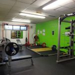 length of the weights room