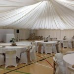 function room being transformed