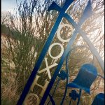 Coxhoe entrance sign in colour