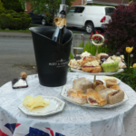 A lovely VE Day tea