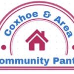 A logo featuring the words '@Coxhoe & Area Community Pantry'
