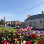 flowers on Quarrington Hill front street